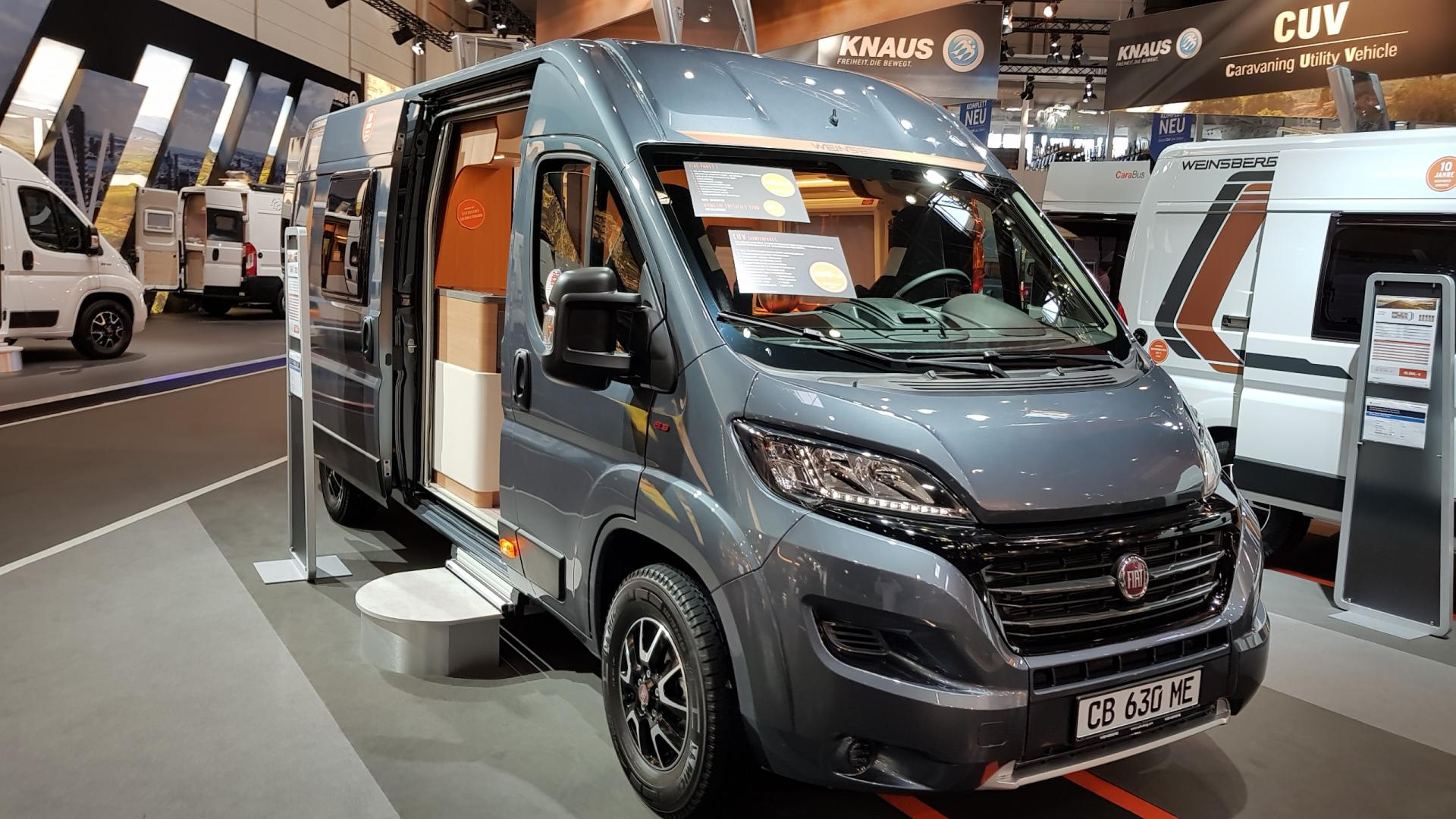 Busamper 2/3 persoons - Hymer Carado Vlow 640 - Type 4