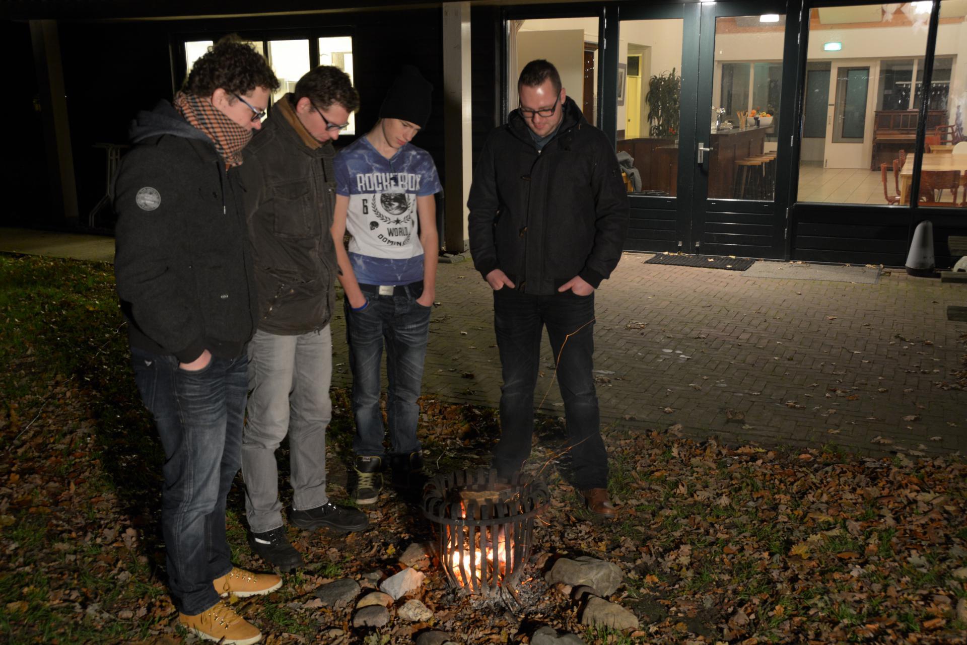 de-Barg-Gelderland-Bennekom-40-personen-Kampvuur