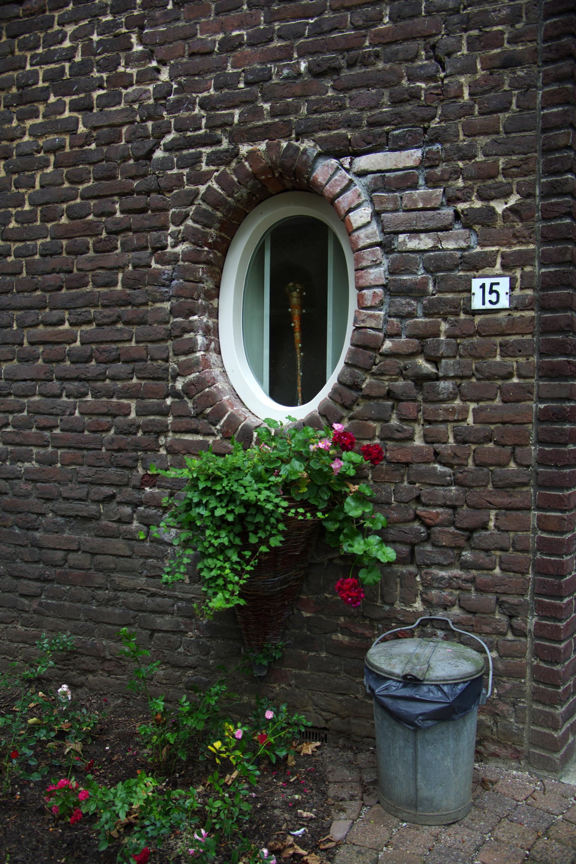 Vakantie Meerlo Onderwijzershuis historisch raam