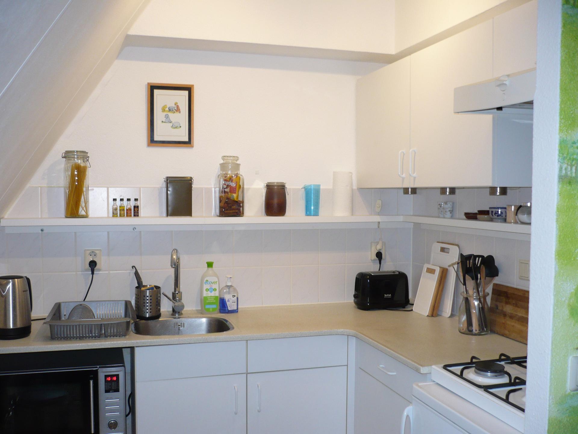 mooie keuken natuurhuisje 153
