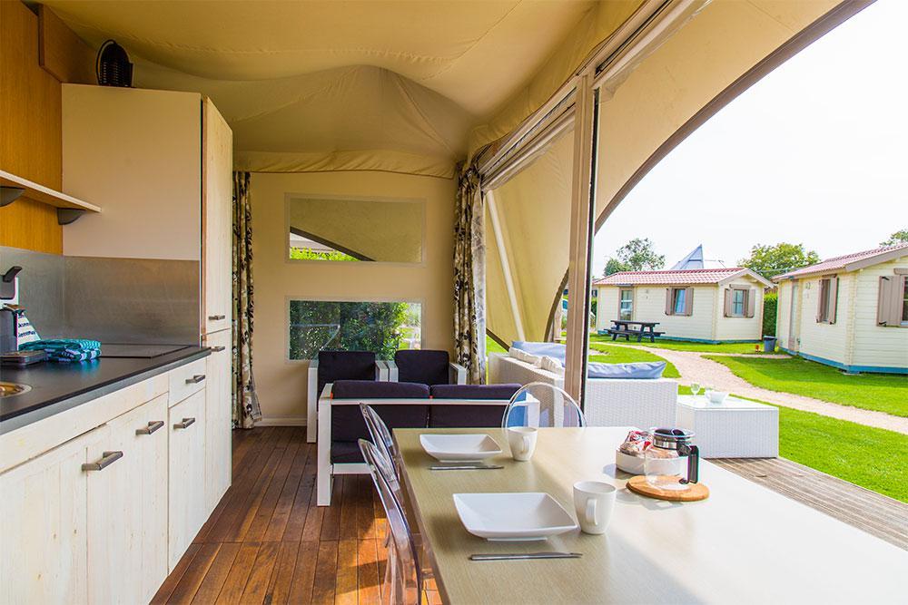 Glamping Camping Zonneweelde Zeeland Nieuwvliet