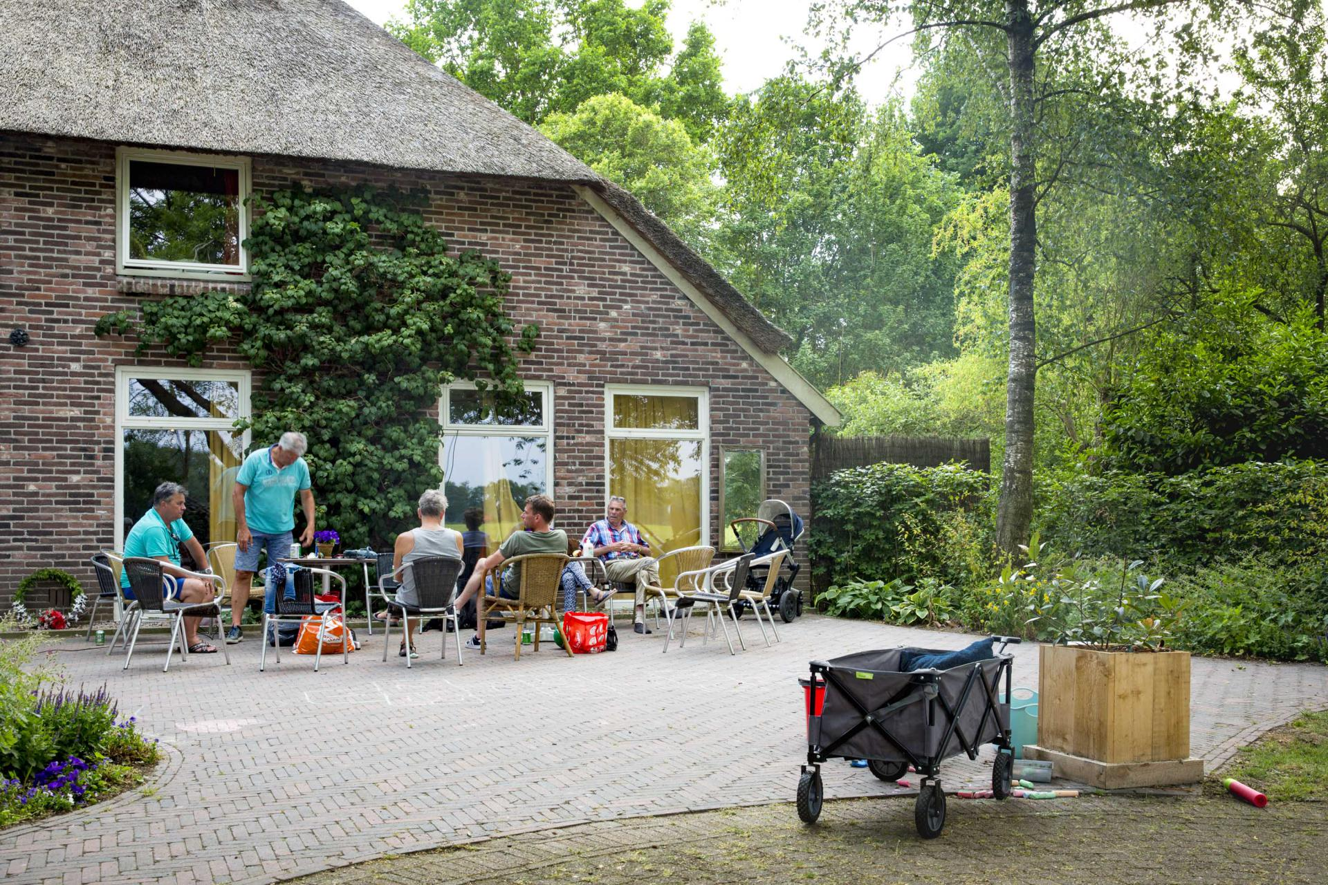 terras accommodatie