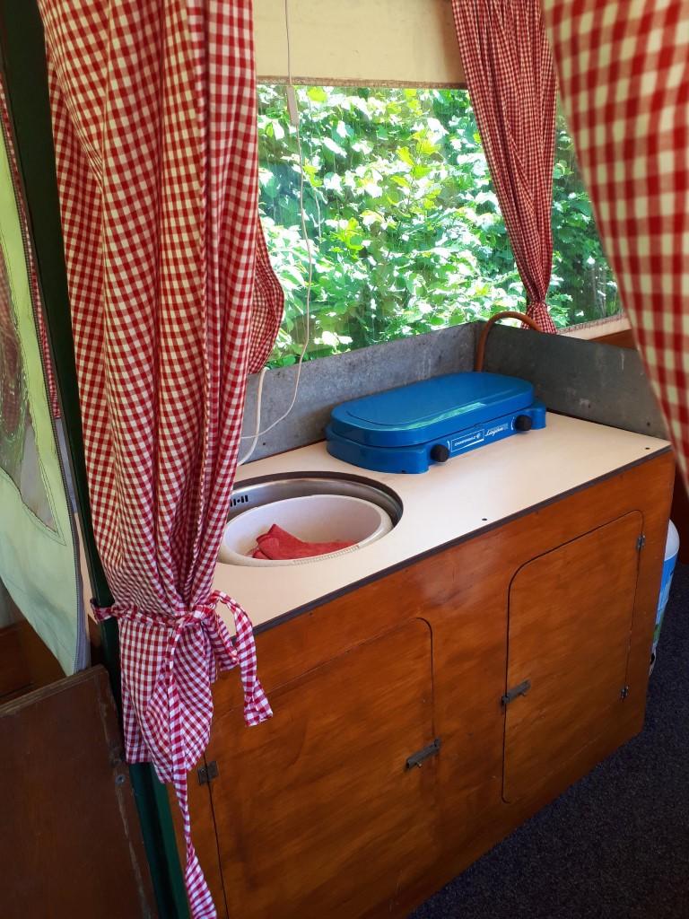 klein keukenblokje