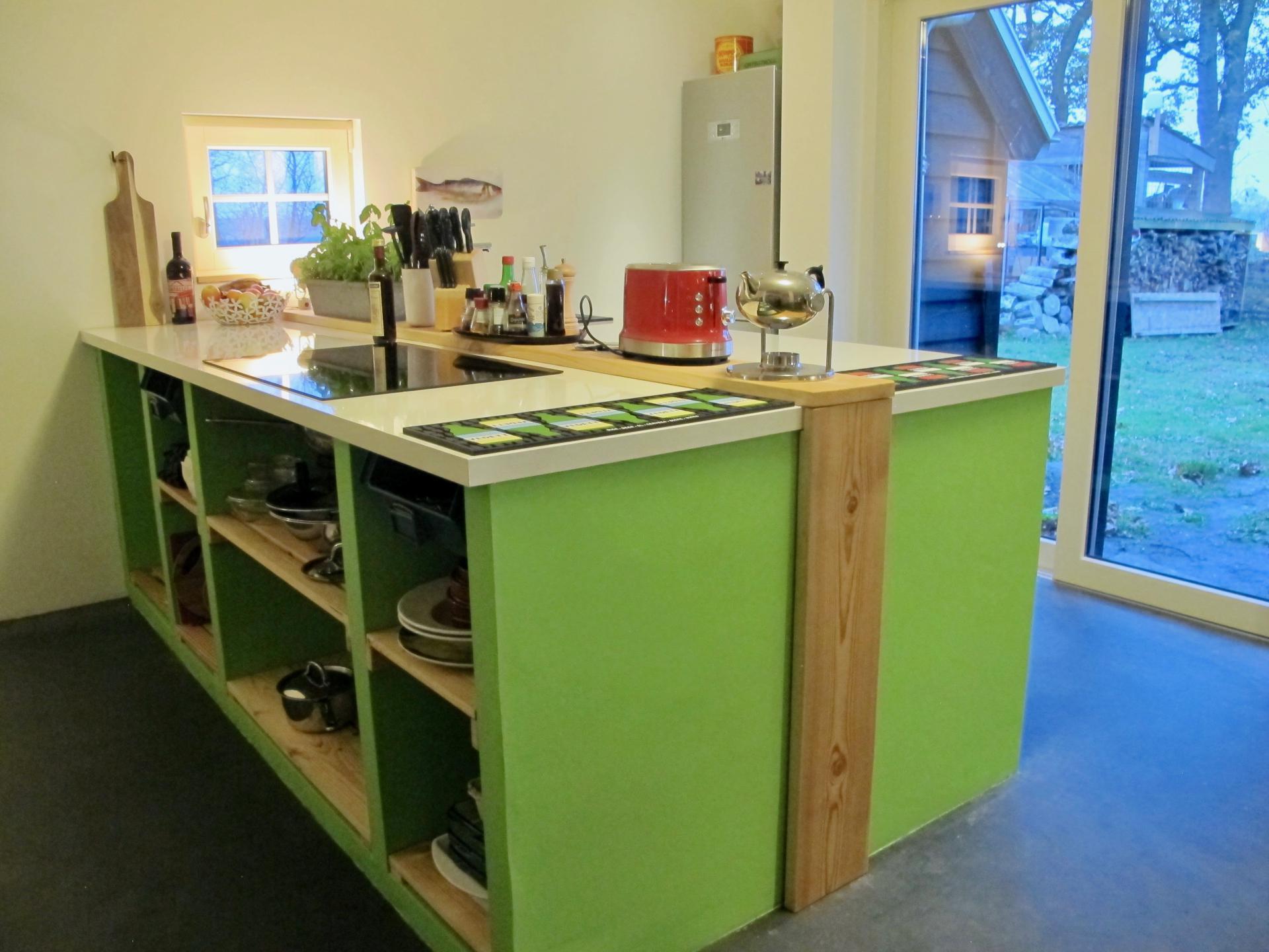 Keuken groepsaccommodatie bij de boefjes