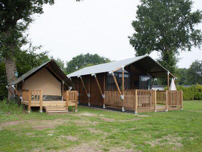 Recreatiepark De Boshoek Safarichalet 4 personen Voorthuizen Veluwe Gelderland
