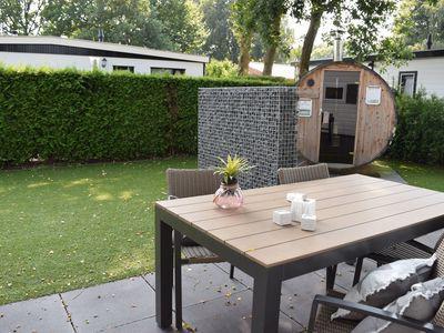 Recreatiepark De Boshoek Veluwelodge 4 personen Met Privé Sauna Voorthuizen Veluwe Gelderland