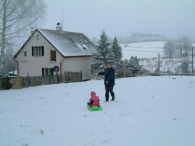 Winter in Tsjechie