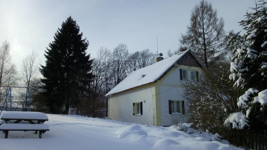 Winter in het Reuzengebergte