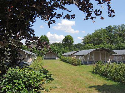 lodgetenten - camping De Boshoek 5- persoons lodgetent