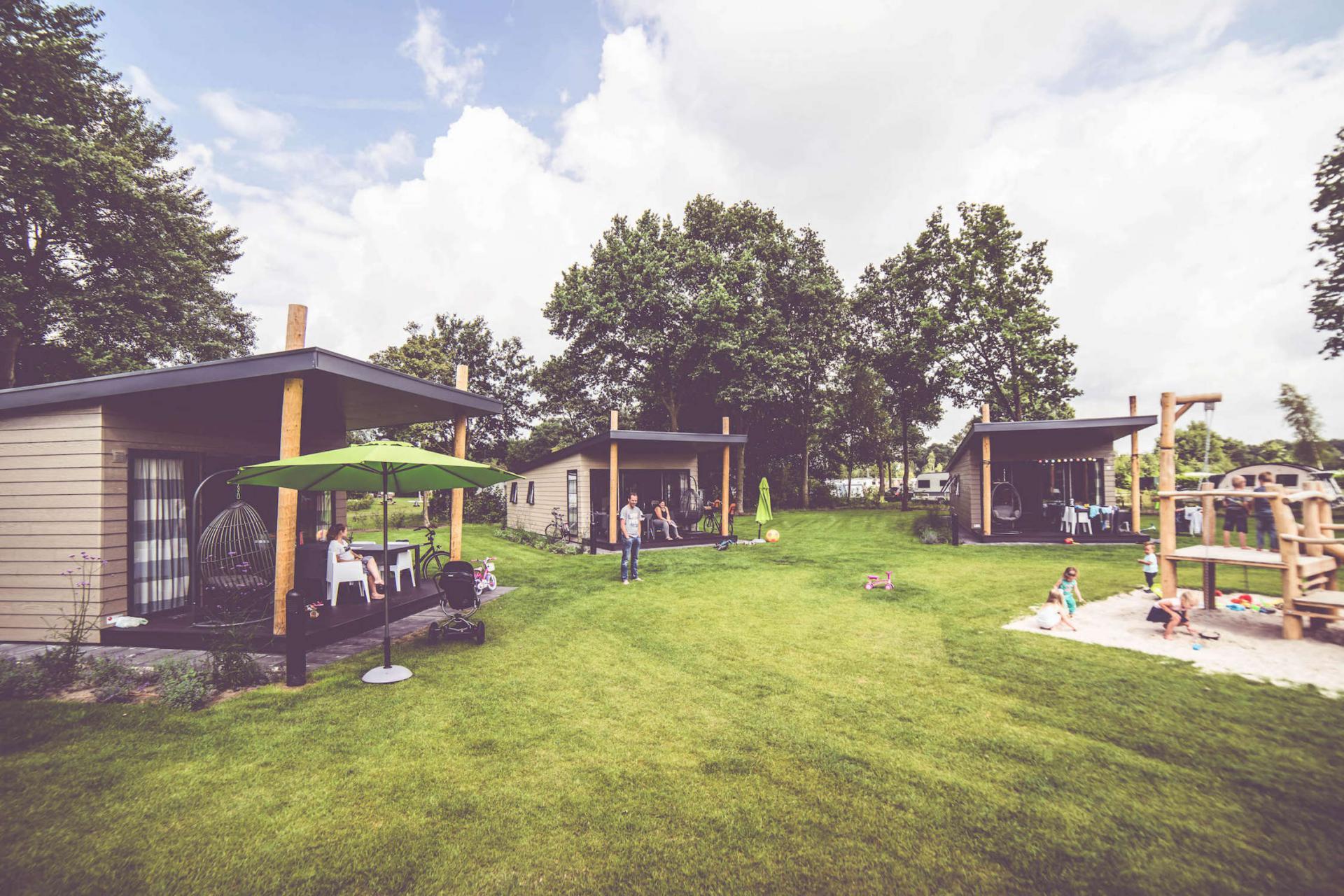 Familiecamping De Belten kampeerplaats 16 ampère Rheeze Overijseel
