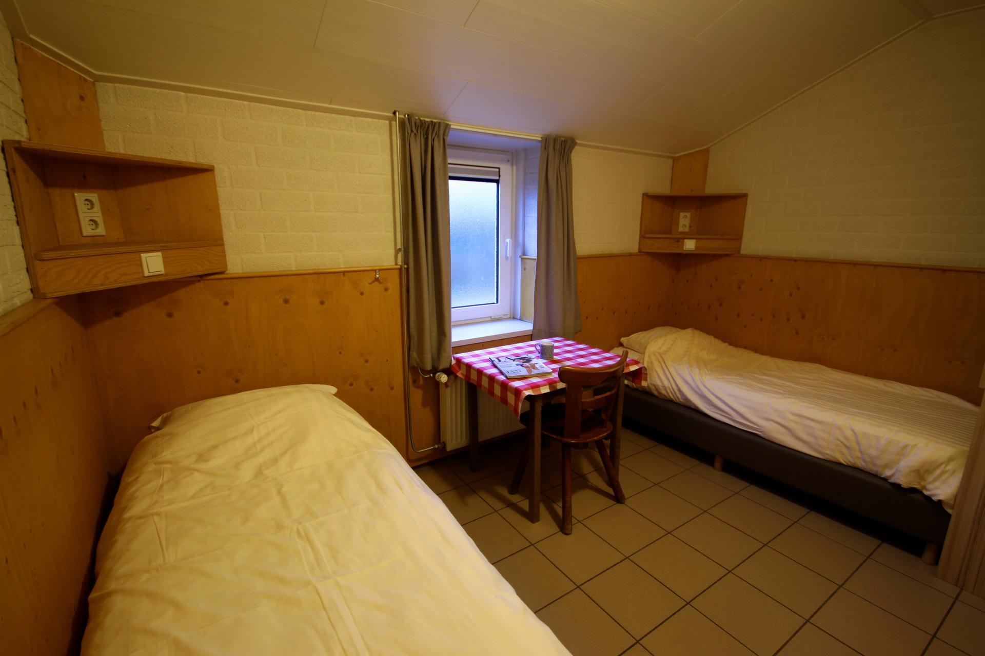 2-persoons slaapkamer Schaapskooi Landgoed de Biestheuvel