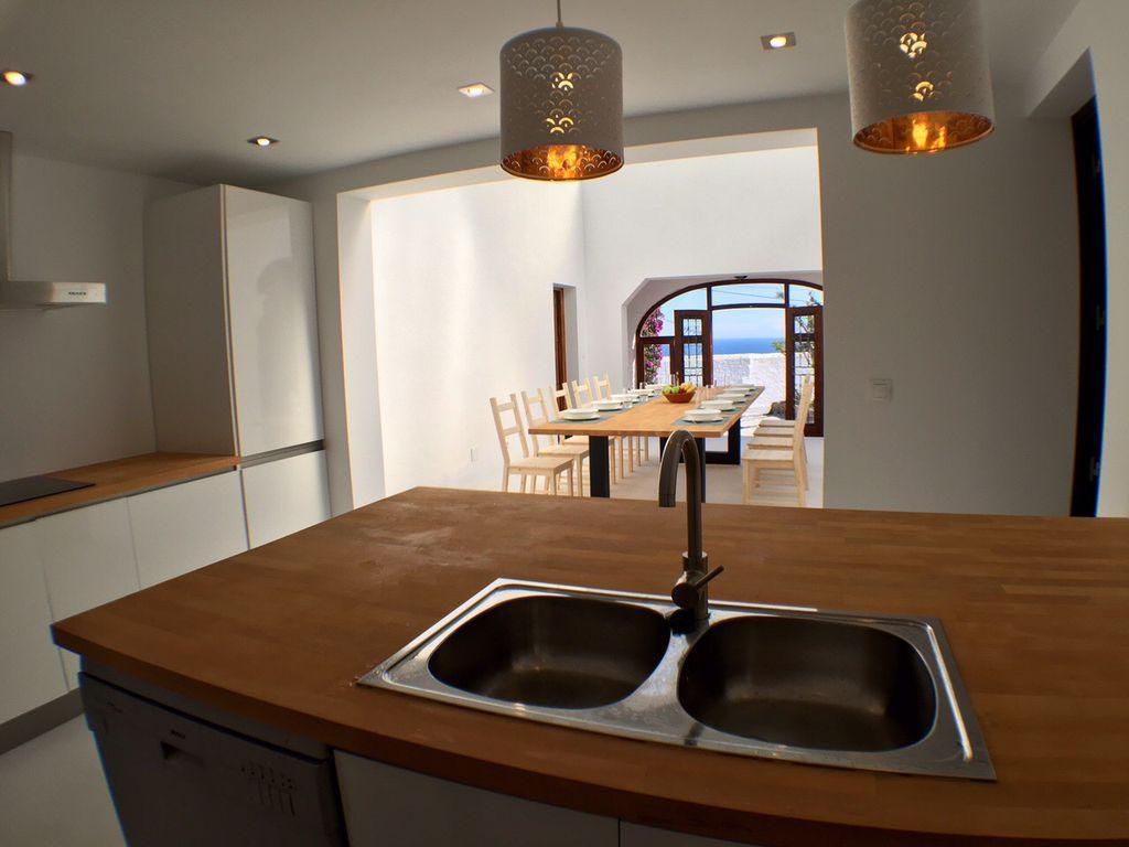 keuken naar tafel zicht