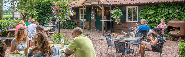 Vakantiepark De Sikkenberg Safaritent Zambia 6 personen Onstwedde Westerwolde Groningen Drenthe