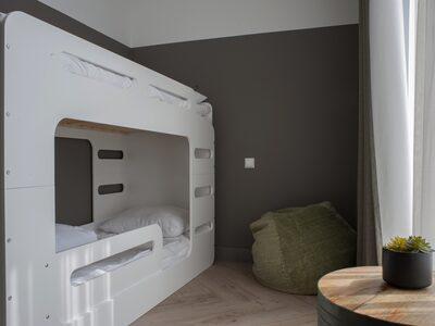 Recreatiepark De Boshoek Luxe Familiekamer 4 personen Voorthuizen Veluwe Gelderland