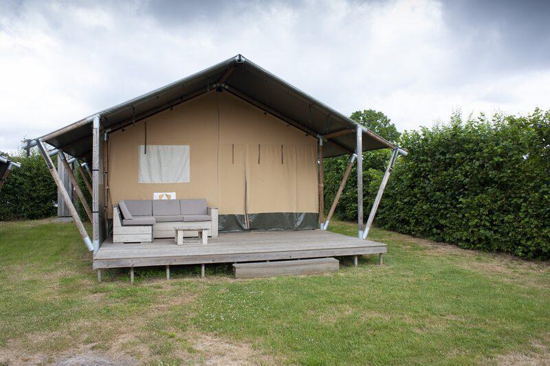 Recreatiepark De Boshoek Safaritent 6 personen Voorthuizen Veluwe Gelderland