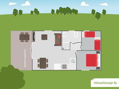 Recreatiepark, De Boshoek, lounge, veluwelounge, 10 personen, Voorthuizen Gelderland, Veluwe, vakantie