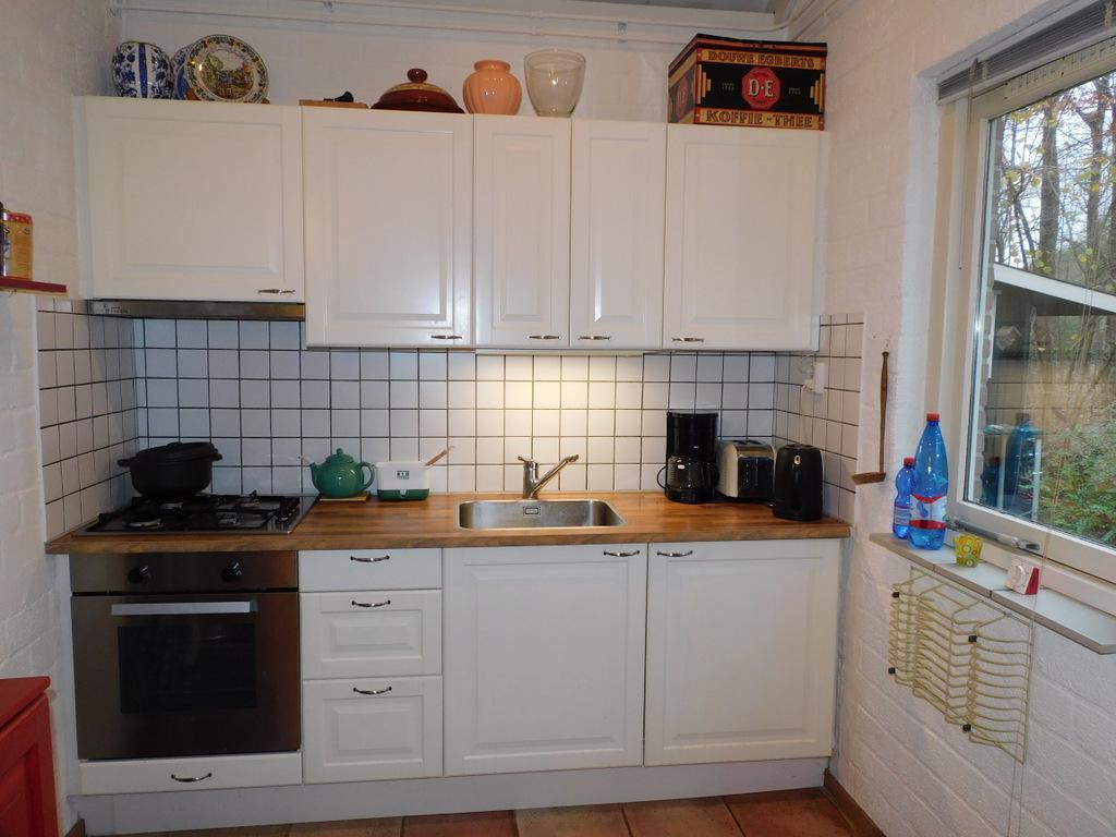Keuken natuurhuisje 142