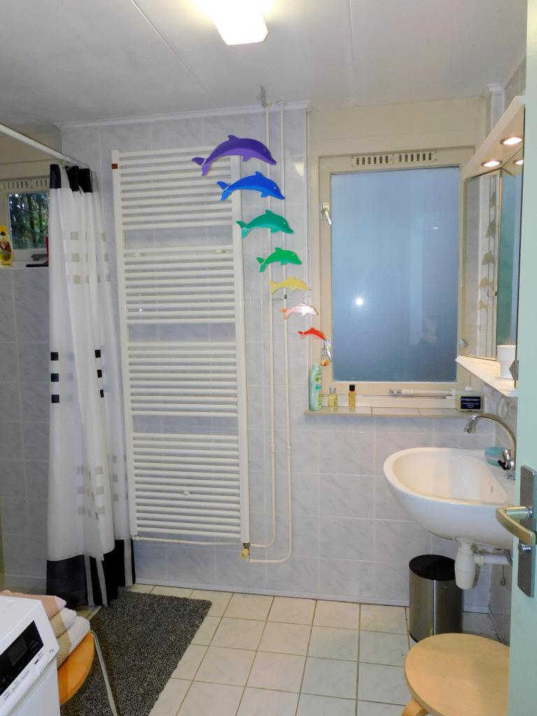 Badkamer natuurhuisje 142