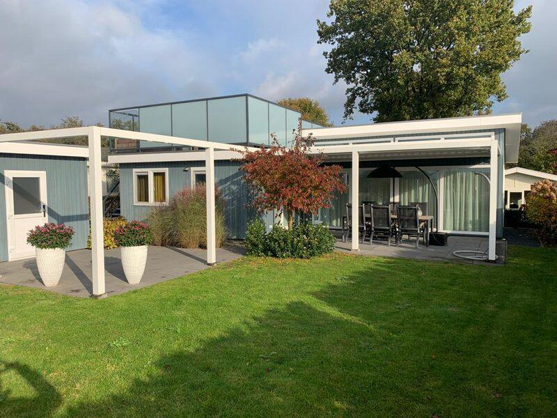 Familiehuis Nunspeet Duinvilla met dakterras en TV 6-personen