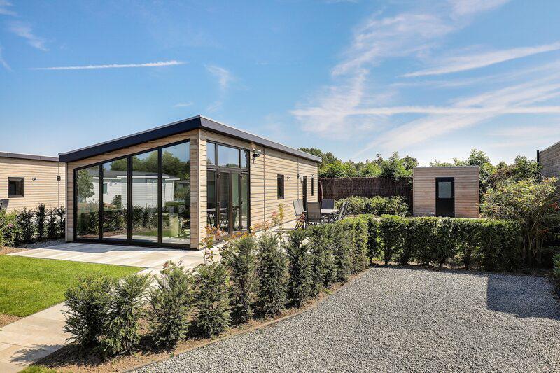 Familiehuis Nunspeet Lodge Met TV 6 personen
