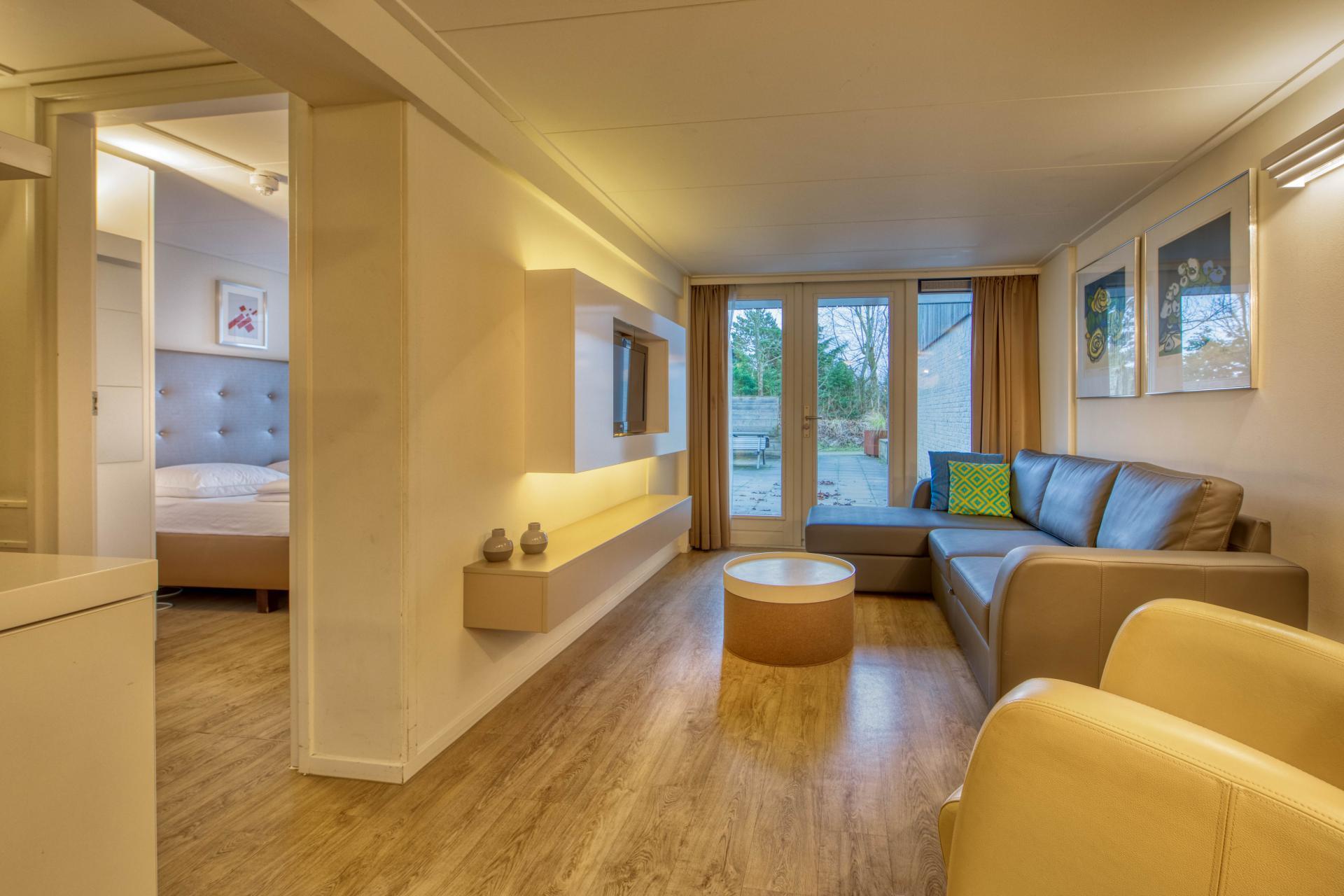 Strand Resort Schier Appartement 3 woonkamer en slaapkamer