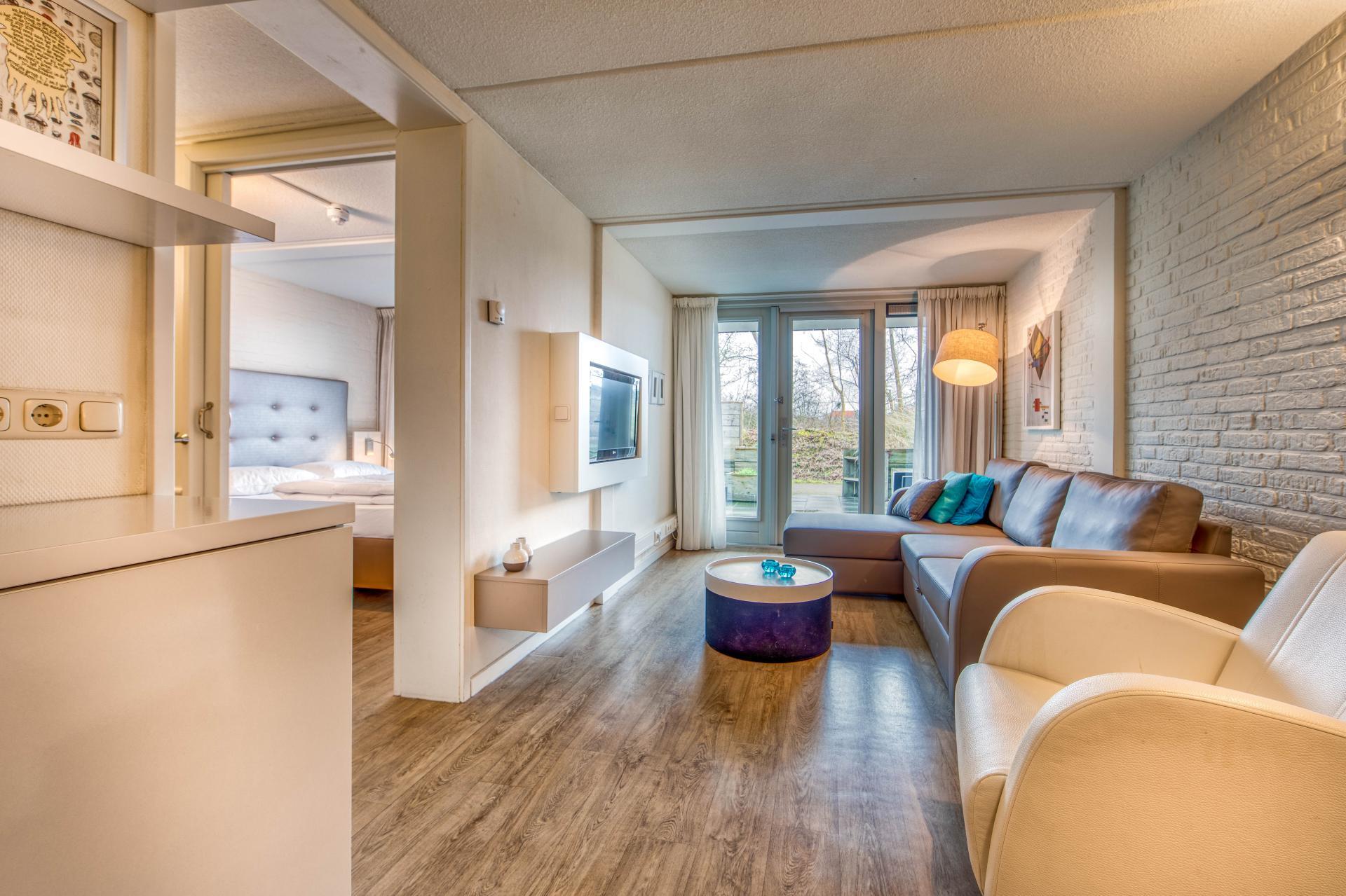 Strand Resort Schier Appartement 6 woonkamer en slaapkamer