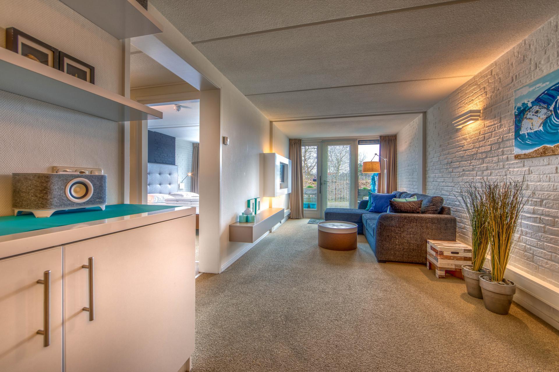 Strand Resort Schier Appartement 7 woonkamer en slaapkamer