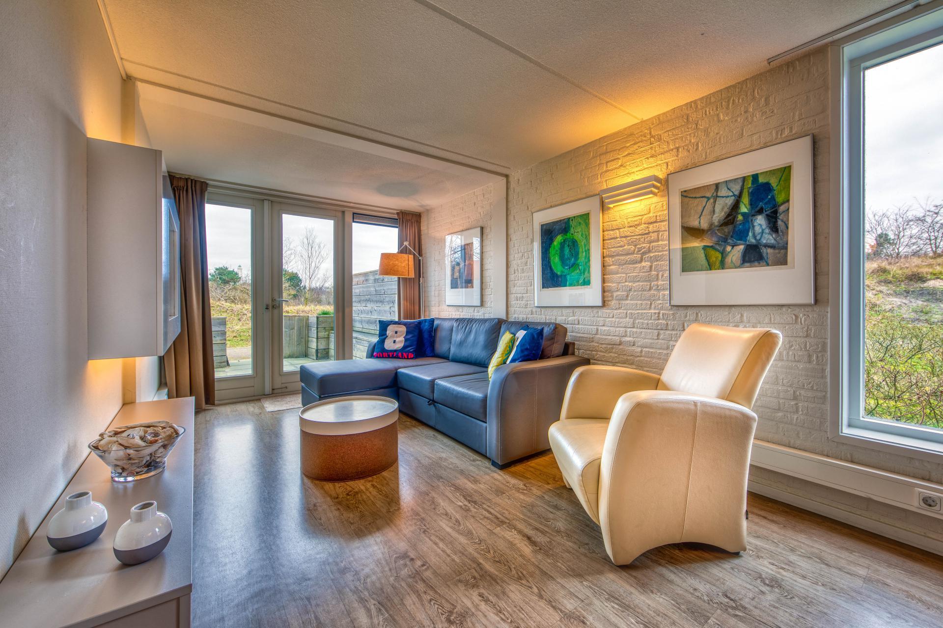 Strand Resort Schier Appartement 8 woonkamer