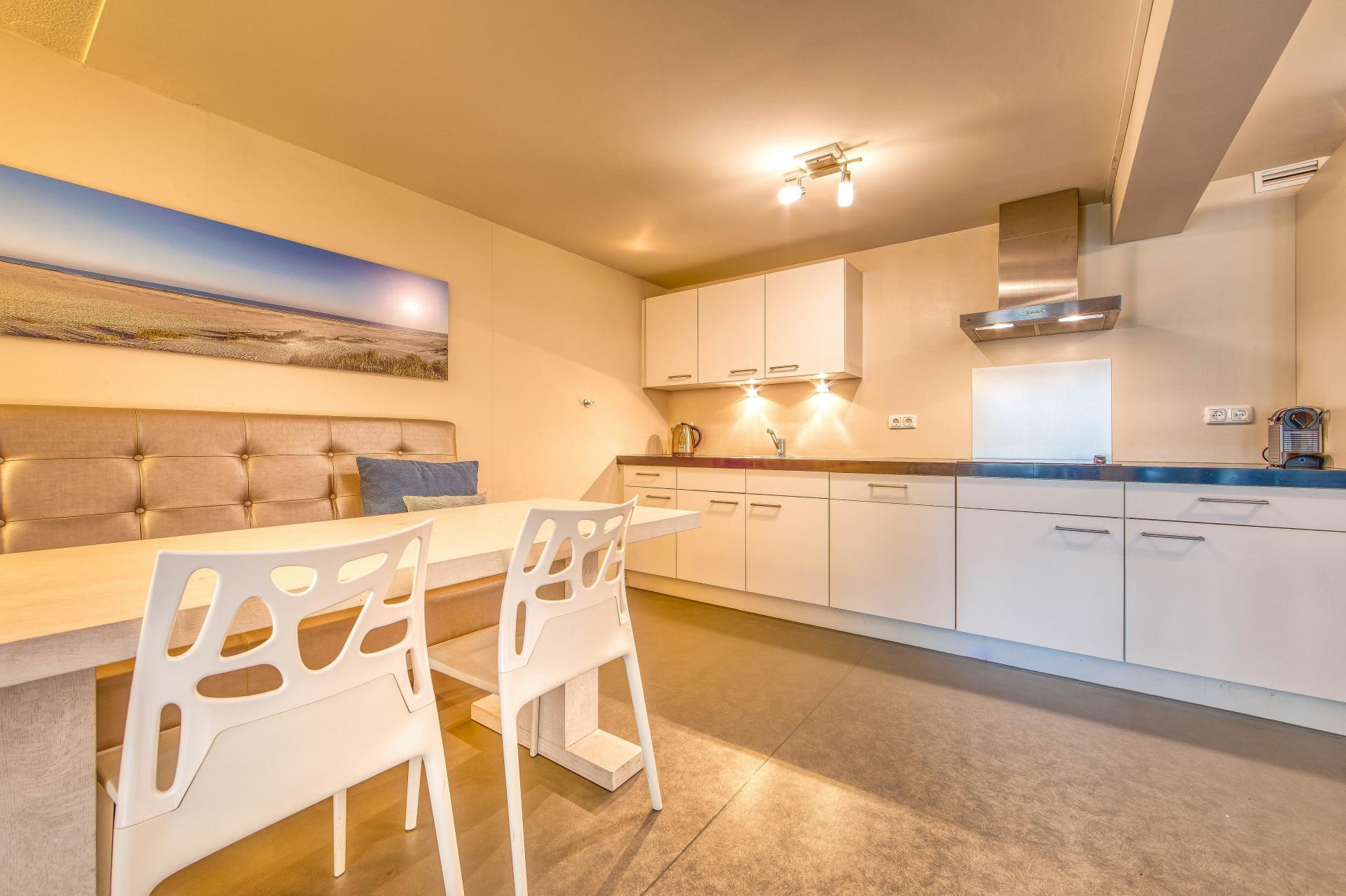 Strand Resort Schier Appartement 10 keuken
