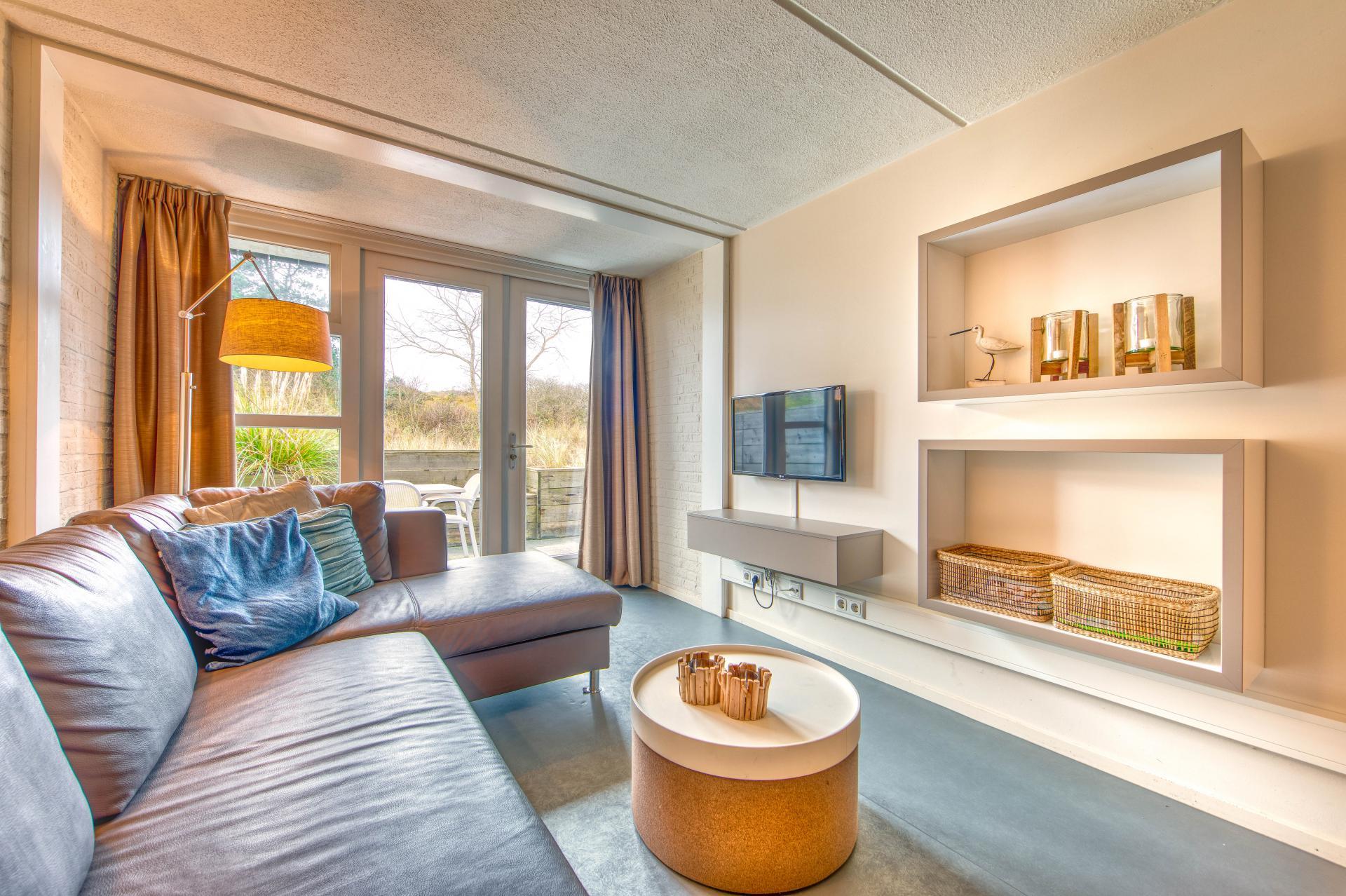 Strand Resort Schier Appartement 10 woonkamer 2