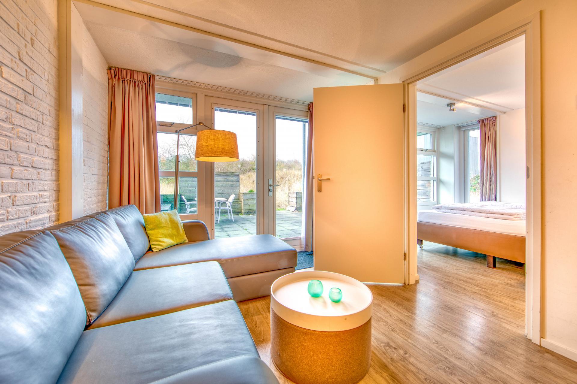 Strand Resort Schier Appartement 13 woonkamer en slaapkamer