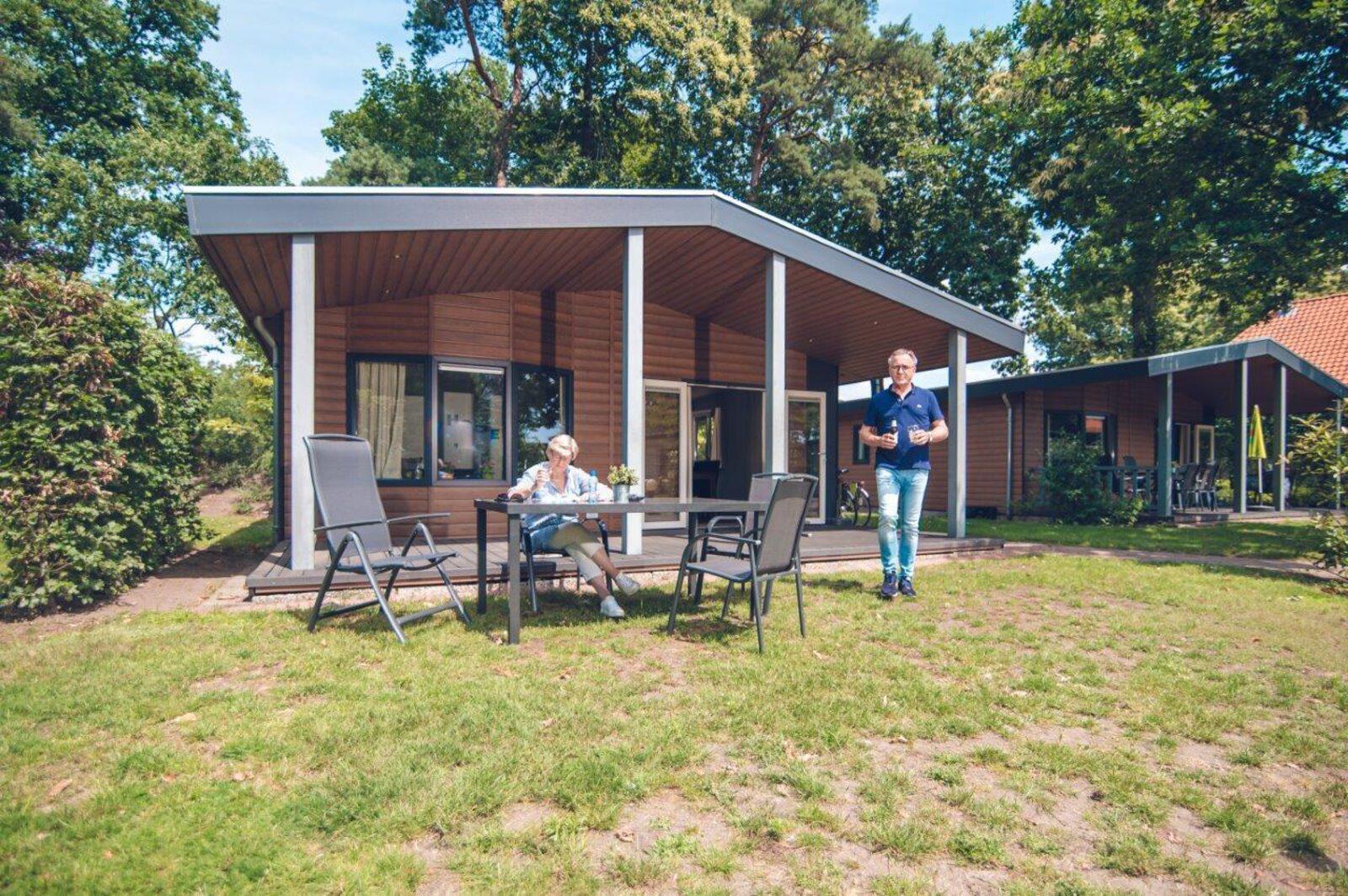 Veranda bungalowchalet | 6 personen
