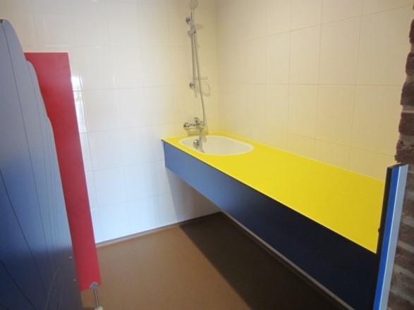 Groepsaccommodatie De Boerenzwaluw - sanitair