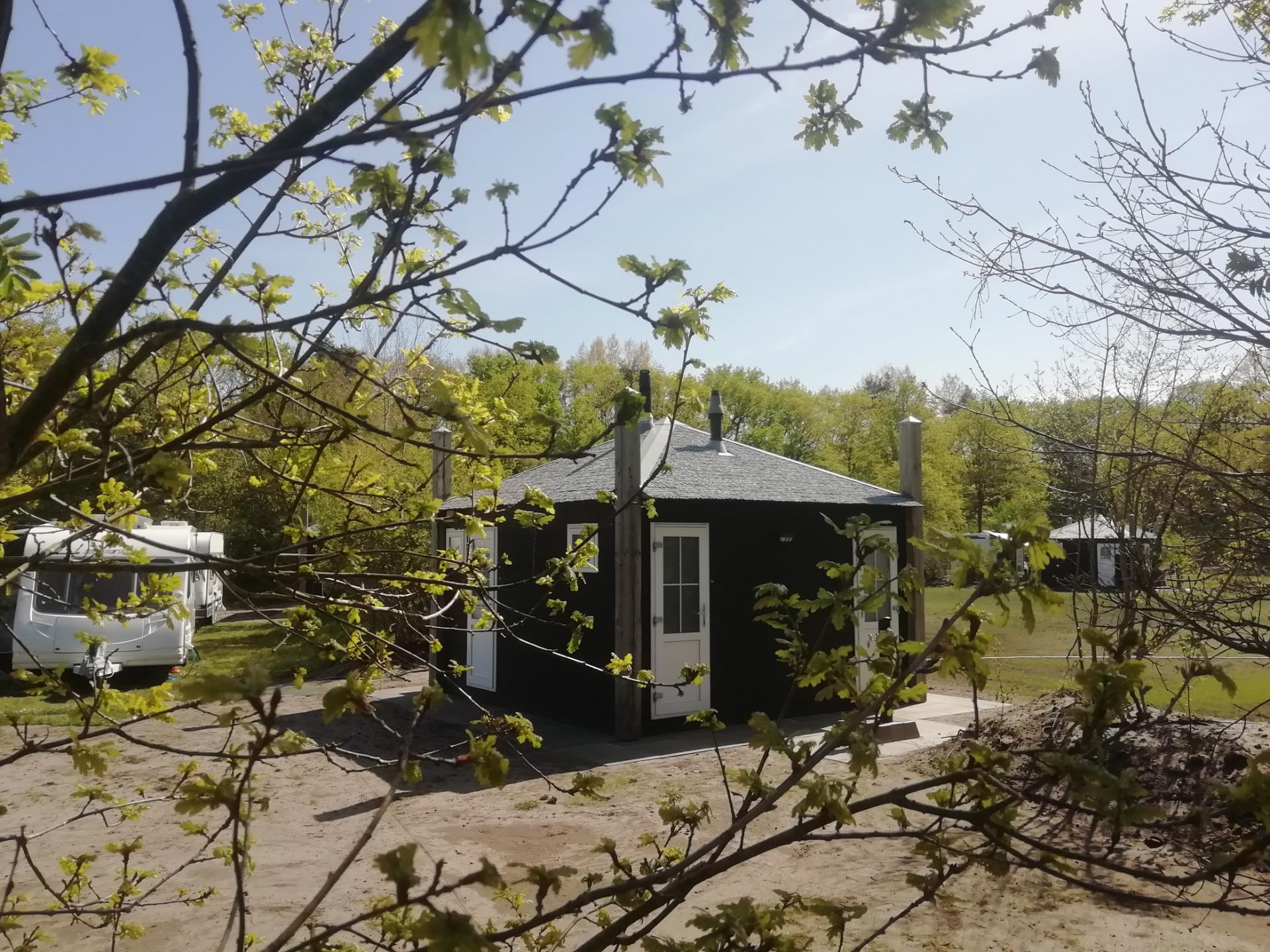 Camping Si-Es-An Camping met privé sanitair Balkbrug