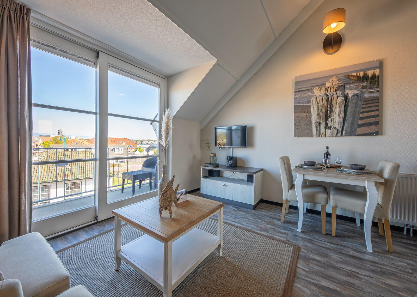 Strandplevier Luxe Eilandsuite 2 personen De Koog, Texel