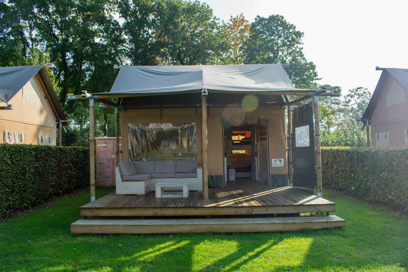 Recreatiepark De Boshoek Luxe Safarilodge 4 personen