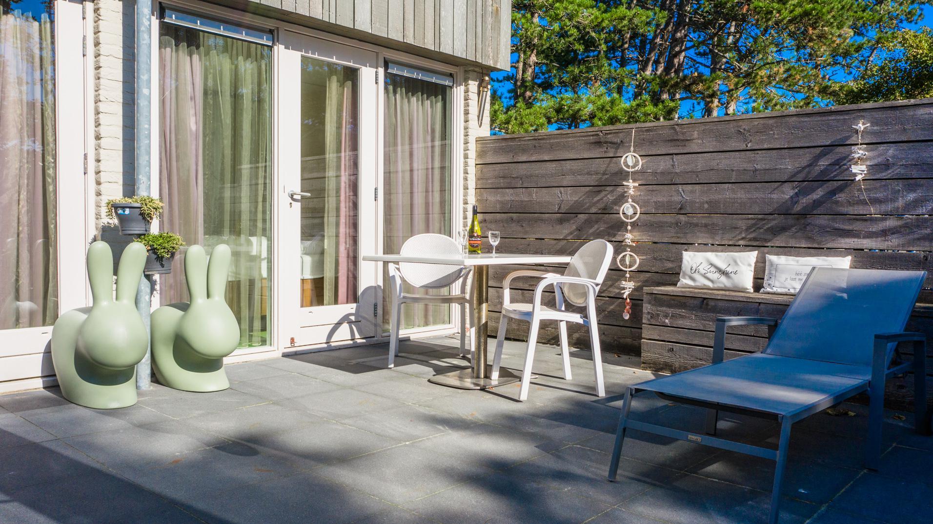 Strand Resort Schier Appartement 1 Terras 1