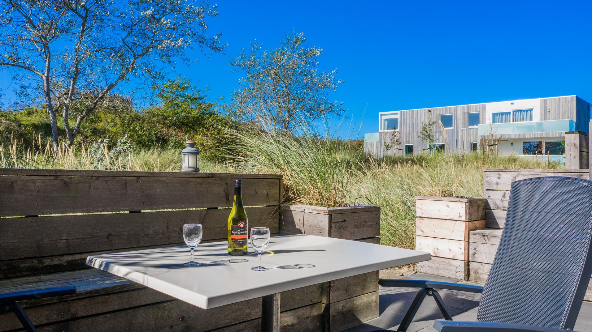 Strand Resort Schier Appartement 10 Terras 2