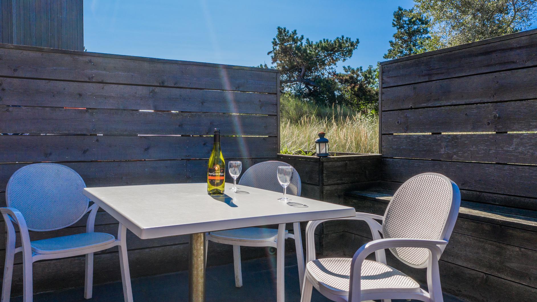 Strand Resort Schier Appartement 13 Terras 2