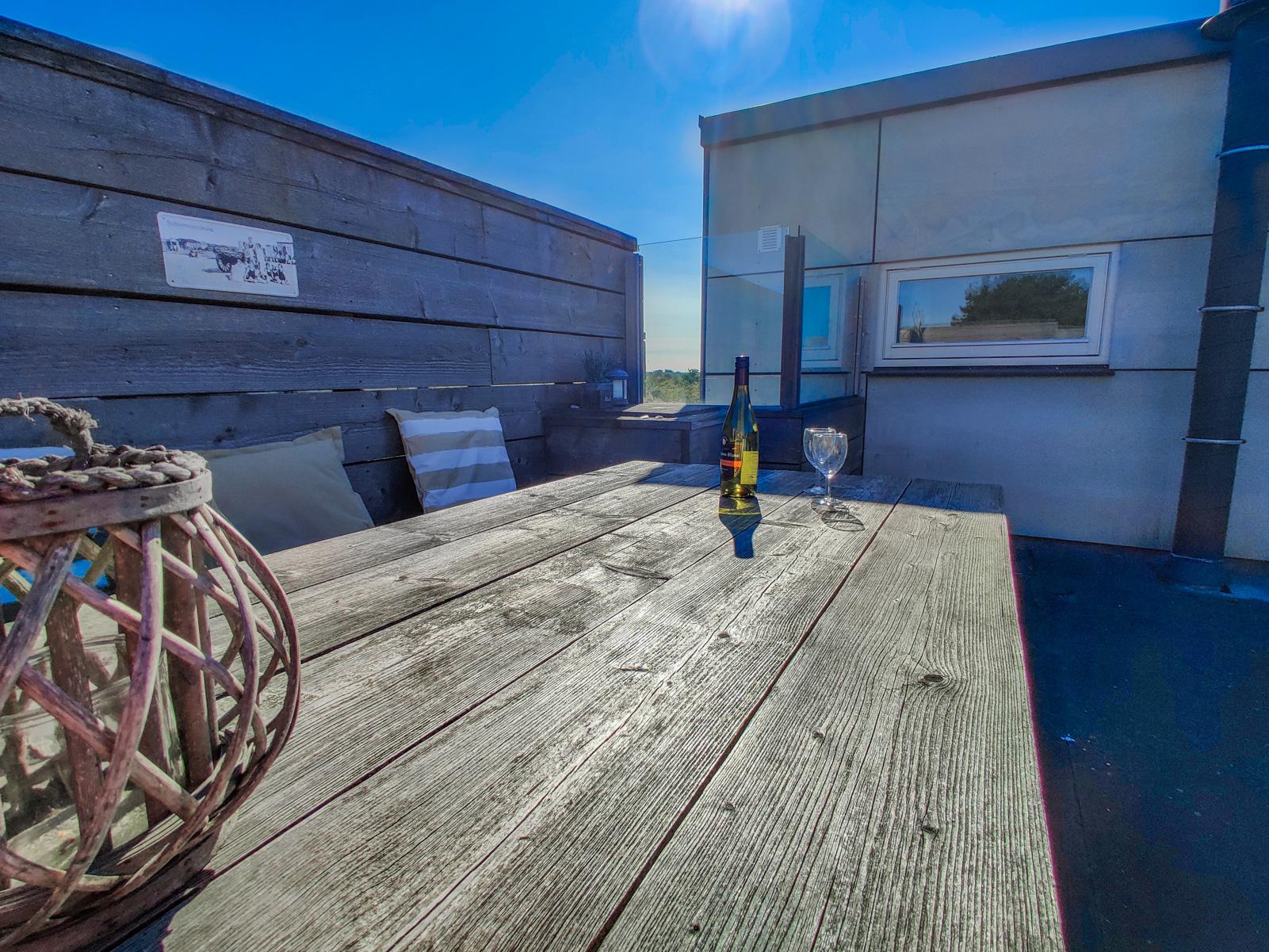 Strand Resort Schier Appartement 128 Terras 1