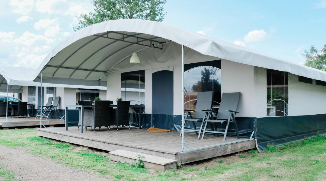 Camping De Scholtenhagen villatent 6 personen Haaksbergen Overijssel