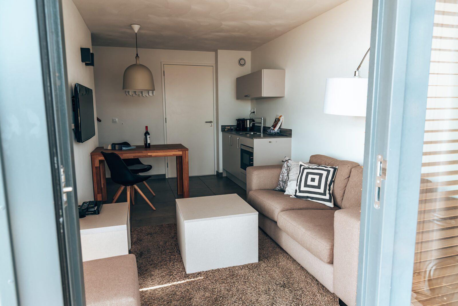 Oasis Parcs  Hotelstudio Deluxe 2 personen Ouddorp Zuid-Holland
