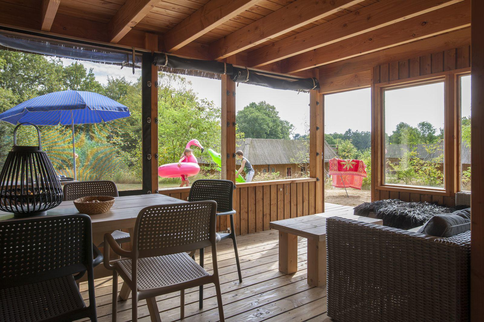 Chalet 7 persoons in Drenthe Witterzomer