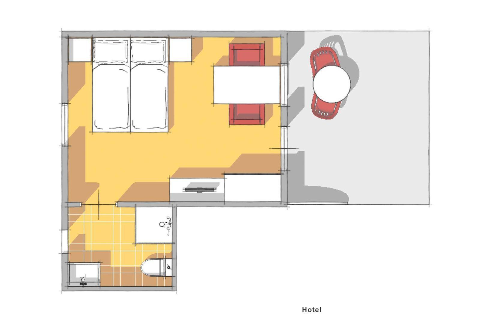 Witterzomer 2 persoons Cottage Hotelkamer Drenthe Assen