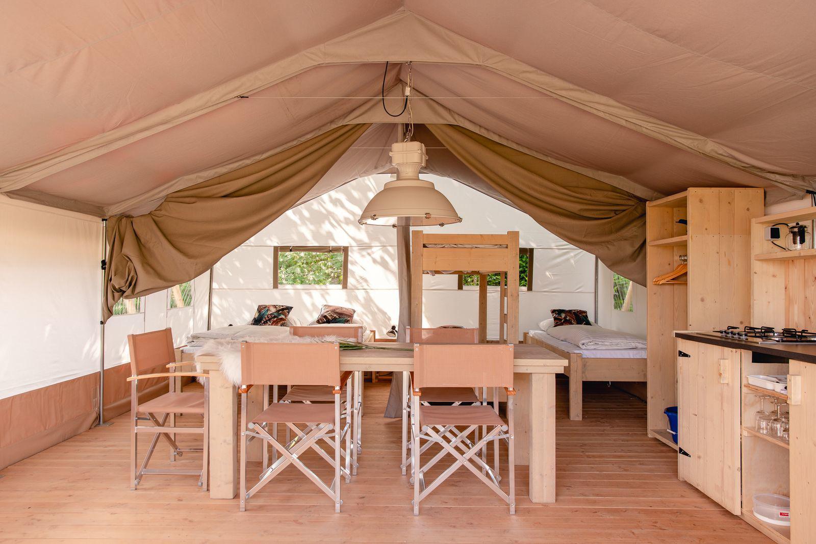 Vakantiepark Mölke Safaritent 5 personen Zuna