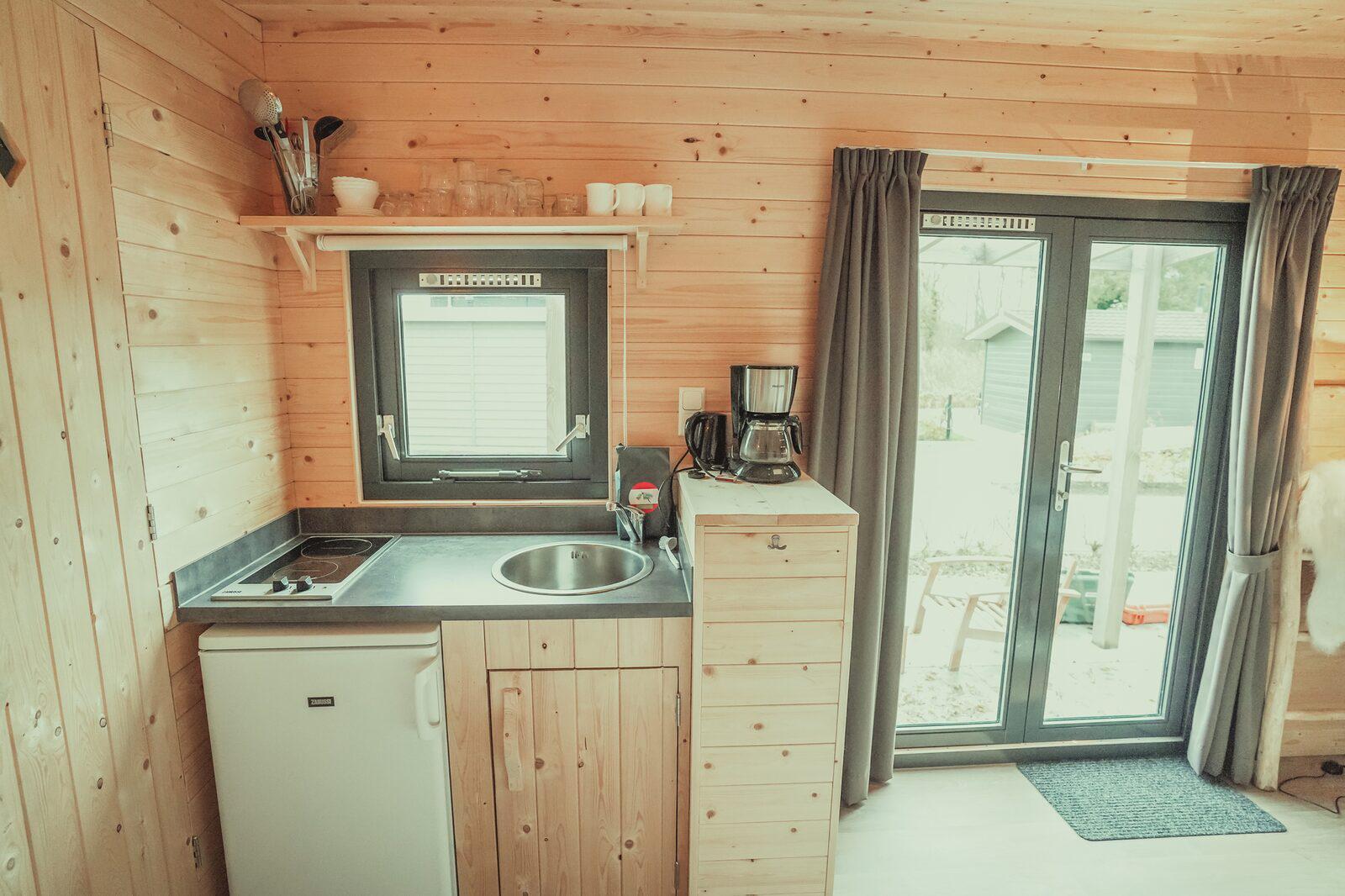 Vakantiepark Mölke Tiny House 4 personen Zuna Overijssel
