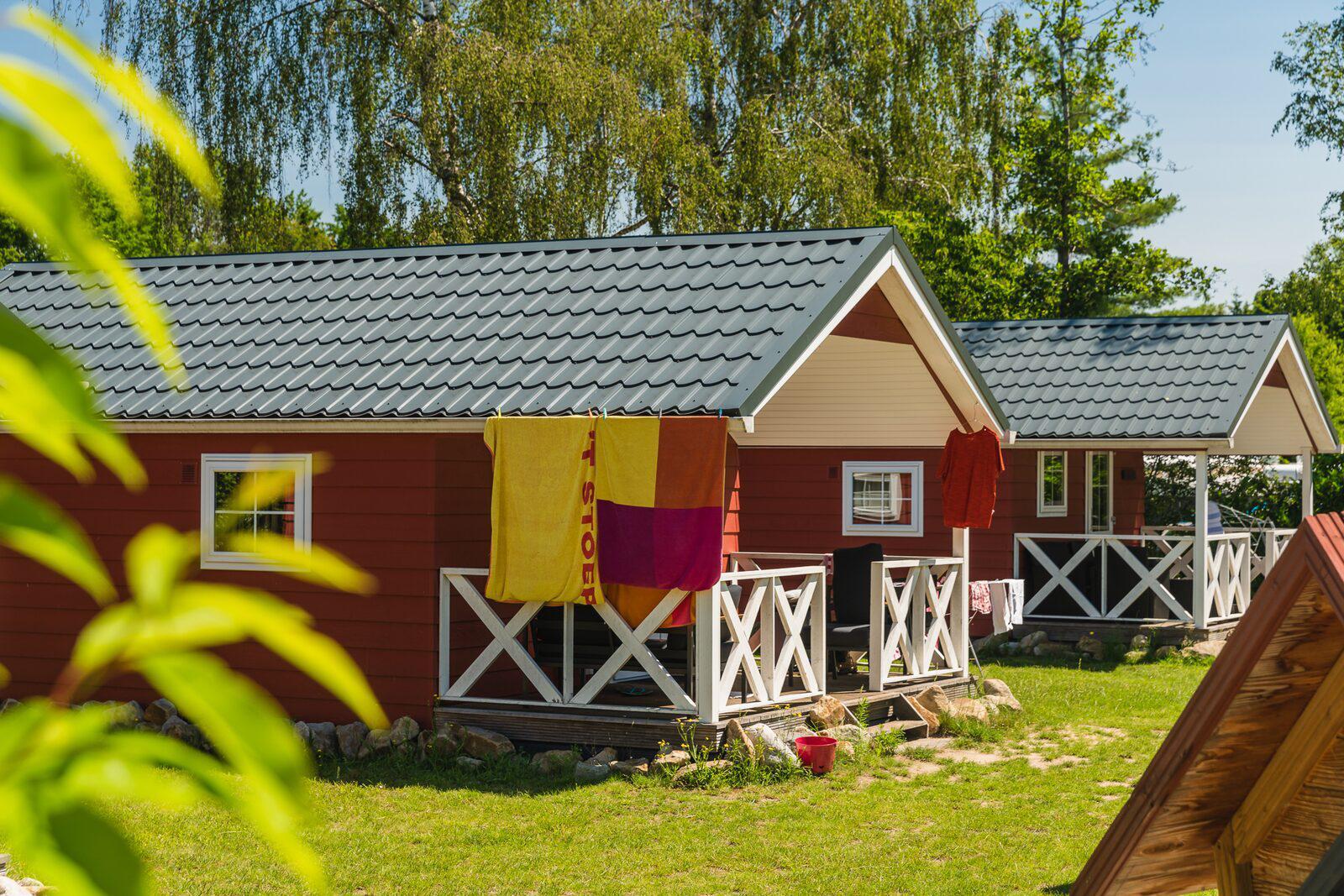 Vakantiepark Mölke Scandinavische logde 4 personen Zuna Overijssel