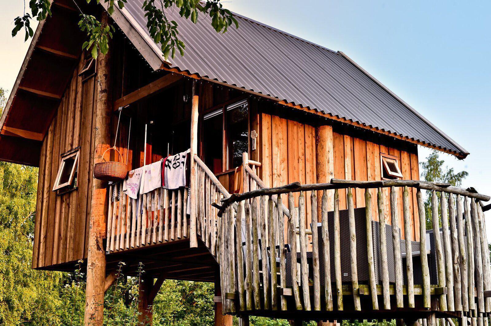 Vakantiepark Mölke boomhut 5 personen Zuna Overijssel