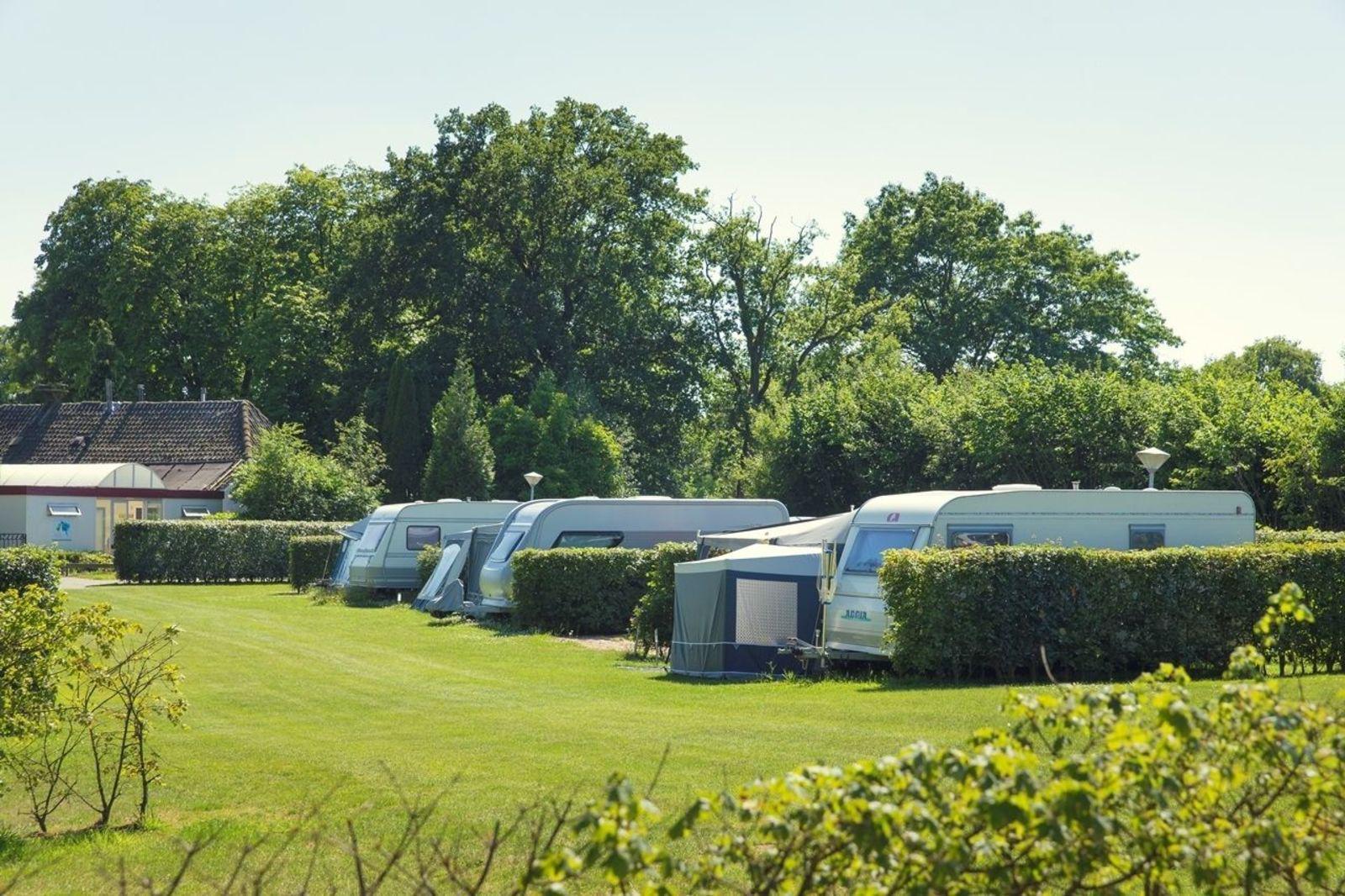Vakantiepark Mölke comfort kampeerplaats Zuna Overijssel