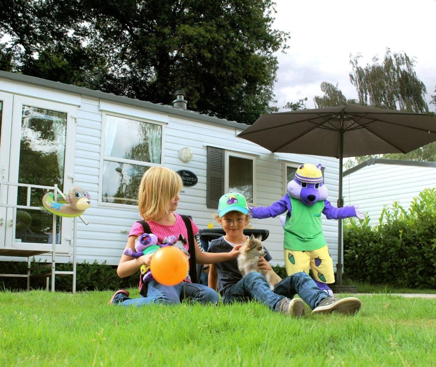 Vakantiepark Mölke Mobile home 6 persoons Zuna Overijssel